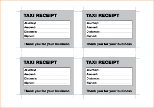 renters application form pdf taxi receipt template
