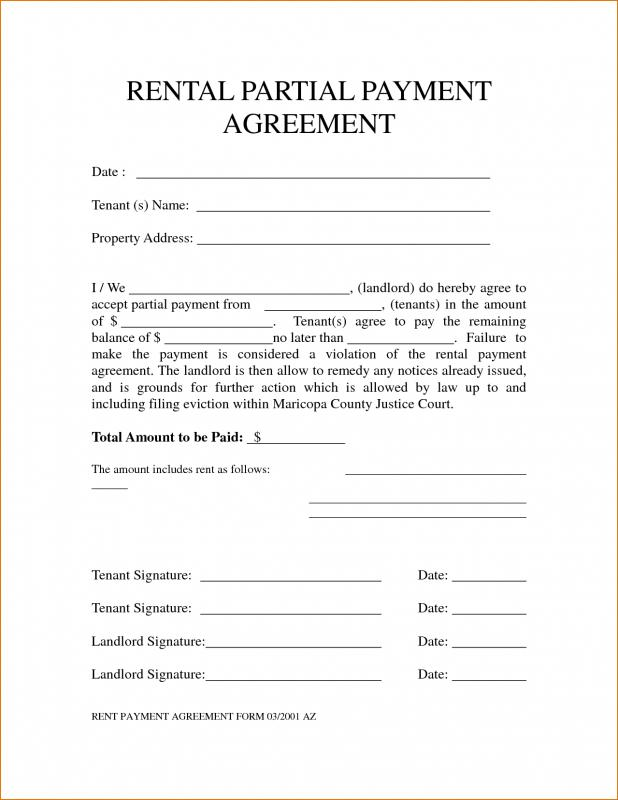 Rental Agreement Receipt Images  Agreement Letter Format