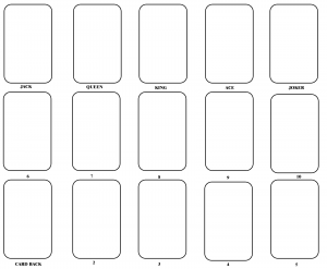 report card templates blank playing card template