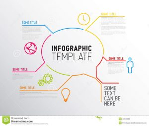 report card templates modern infographic report template made lines vector icons big speach bubble