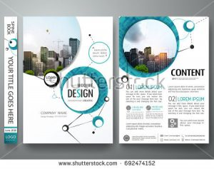 report cover template stock vector portfolio design template vector minimal brochure report business flyers teen magazine poster