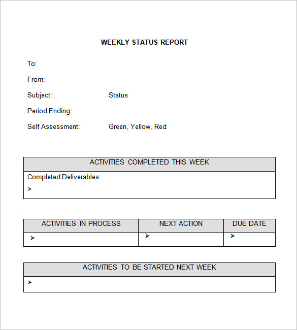 microsoft word report template