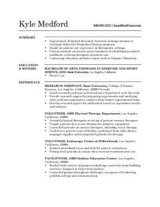 research assistant resume resume example grada