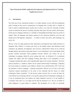 research paper sample kamlesh akash research paper on open educational app development for teching english