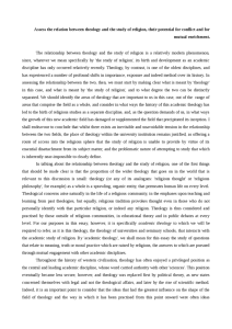 research paper samples essay religious studies and theology