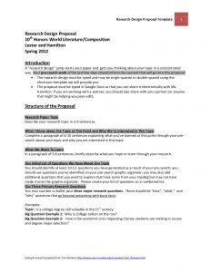 research proposal examples official research design proposal template and guidelines lester and hamilton march spring