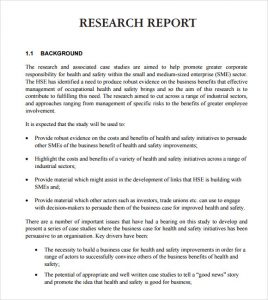 research report format example of a research report format