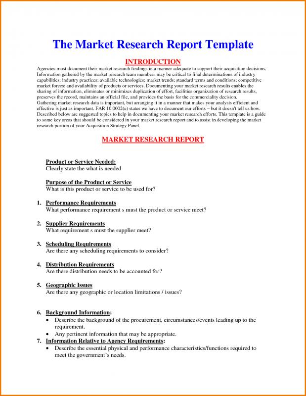 what is a report template