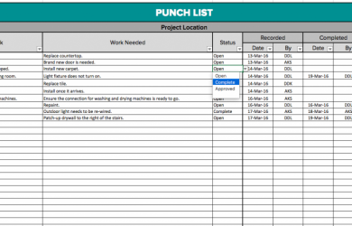 residential construction schedule template excel punchlist blog x