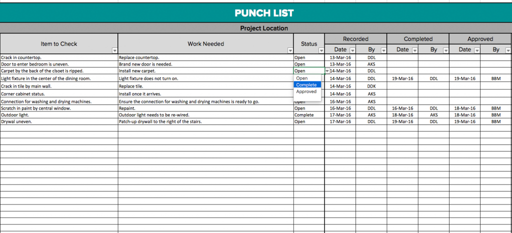 Residential Construction Schedule Template Excel Template Business