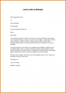 resign letter template how to write resign letter to manager leave letter to manager