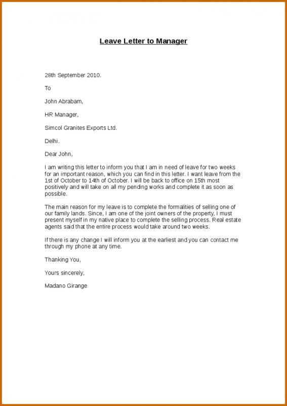 Resign Letter Template | Template Business