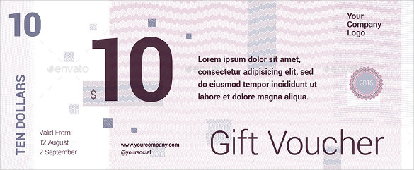 restaurant gift certificate template template business