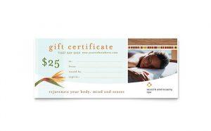 restaurant gift certificate template gbd s