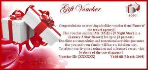 restaurant gift certificate template gift voucher template