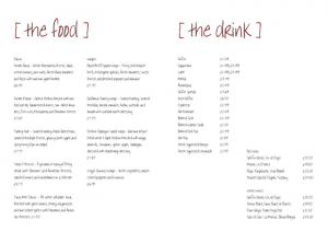 restaurant menu template free coffeebar