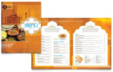 restaurant menu template free fb s