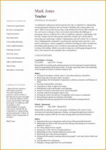 resume example for college student samples of curriculum vitae for teachers curriculum vitae examples for teachers