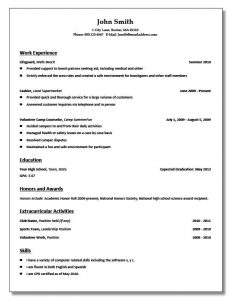 resume examples for students best ideas about high school resume template on pinterest job throughout high school resume templates