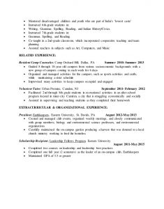 Resume Examples For Students Student Teaching Resume Edit