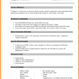 resume for freshers sample resume format for bcom freshers