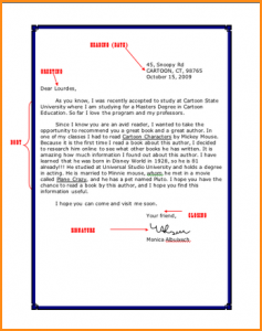 resume high school students friendly letter example picture