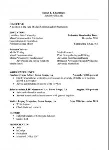 resume samples for college student basic high school student resume