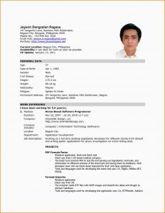 resume template college student resume for job application filipino job resume sample philippines