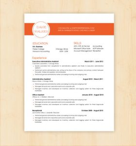 resume template doc il xn ae