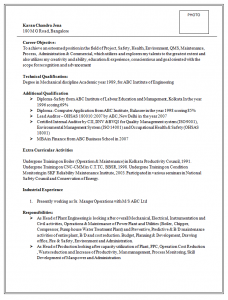 resume template doc karan chandra jena ()