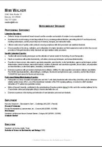 resume template for college student sample college resume