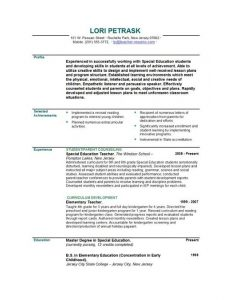 resume template for teaching school teacher resume sample