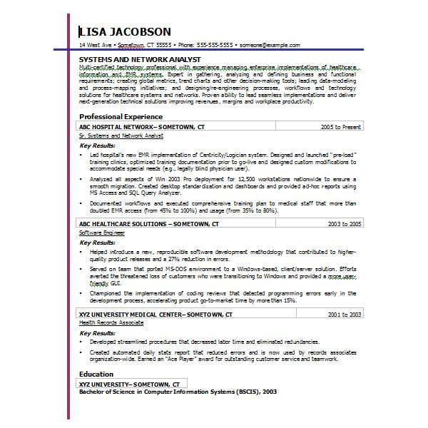 resume template microsoft word 2007