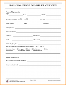 resume templates for highschool students job application for students muster