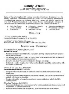 resume templates for teachers eebdaaabdefd resume cover letters sample resume cover letter