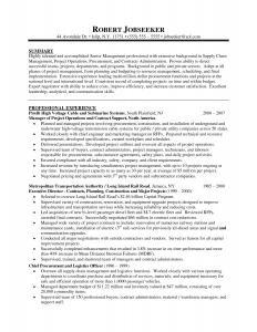 resumes examples for retail program manager resume summary resume template for project manager for program manager resume best template collection robert jobseeker