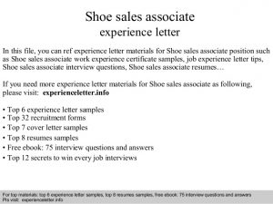 resumes for bank tellers shoe sales associate experience letter