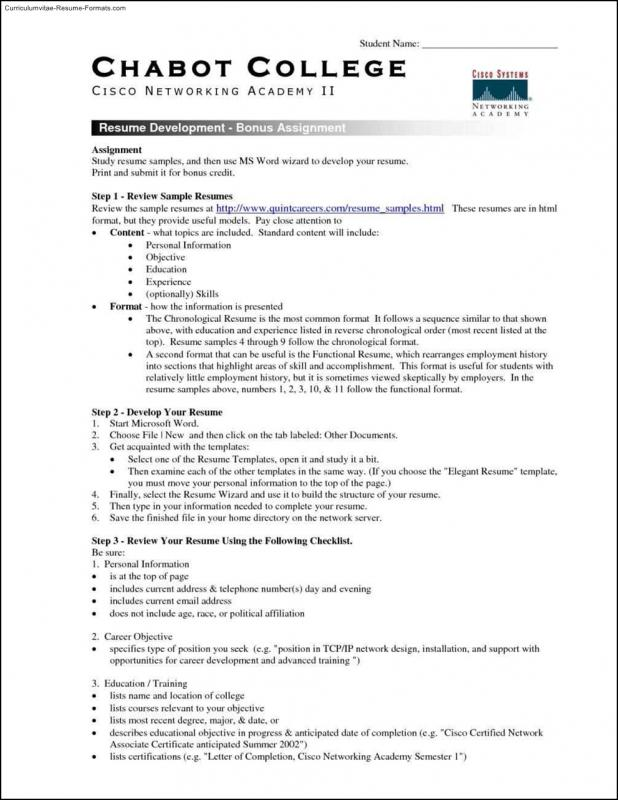 resumes for high school students - Resume For Highschool Students