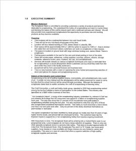 retail business plan retail business plan sample