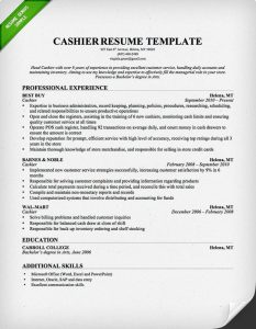 retail resume template cashier resume template professional