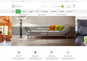 retail web site retail furniture ecommerce shop html template x