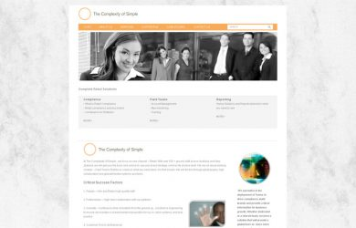 retail web site retail website design