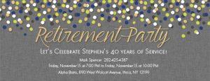 retirement flyer template free thumb slider