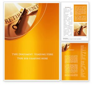 retirement flyer template free word template