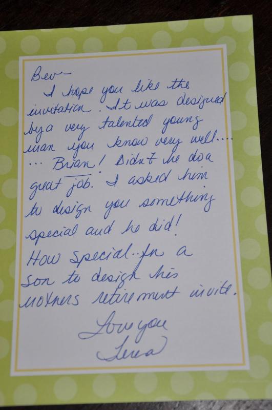 retirement letter samples for someone retiring