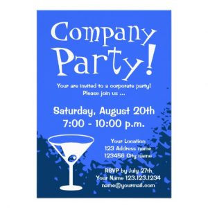 retirement party invitation template corporate party invitations company invites