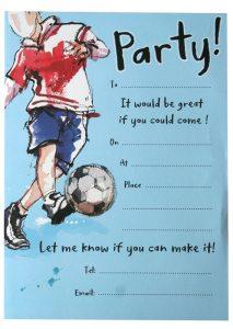 retirement party invitation templates football birthday party invitations