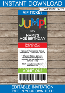 retirement party invite template trampoline party invitations