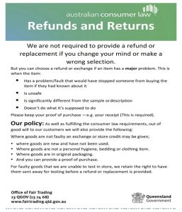 return policy template template business return policy template refund sign maxwellsz