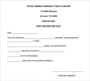 return to work doctors note template doctors excuse note template for work min min